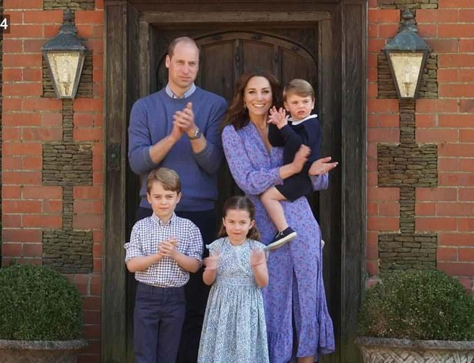 william, kate, filhos