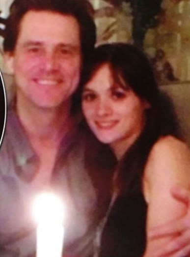 Jim Carrey e Cathriona White