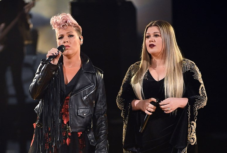 Pink e Kelly Clarkson