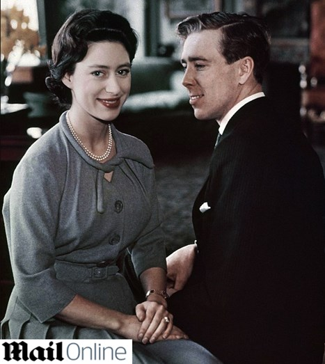 Princesa Margarida e Antony Armstrong-Jones em 1960