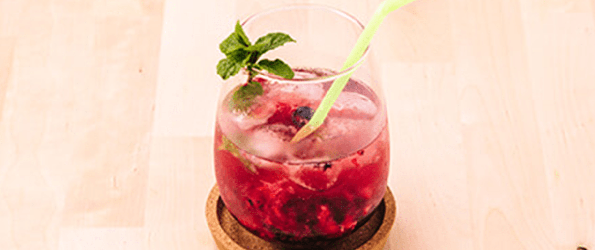 Cocktail de frutos vermelhos