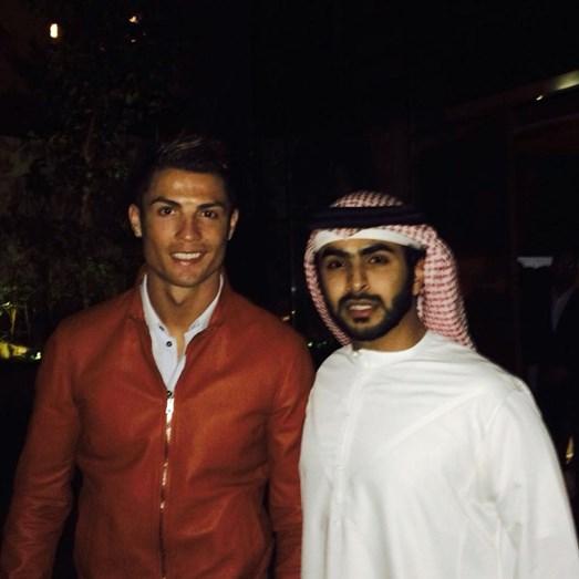 24eead4c8b9 Cristiano Ronaldo e amigos aproveitam hospitalidade de milionário do Dubai.  1   26 .