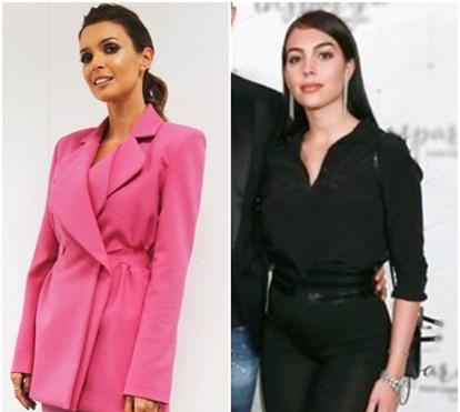 Quem fica mais elegante? Georgina Rodriguez e Maria