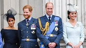 William, Harry , Meghan e Kate